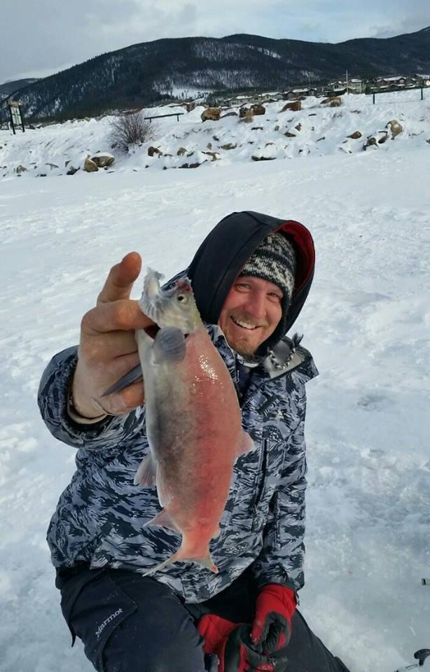 kokanee salmon landlocked sockeye randy camoflauge winter trips