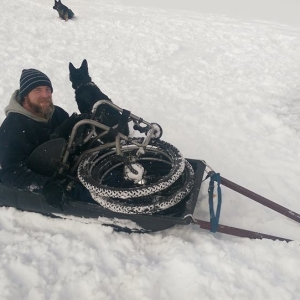 wheelchair accessible ice fishing venture good dogs