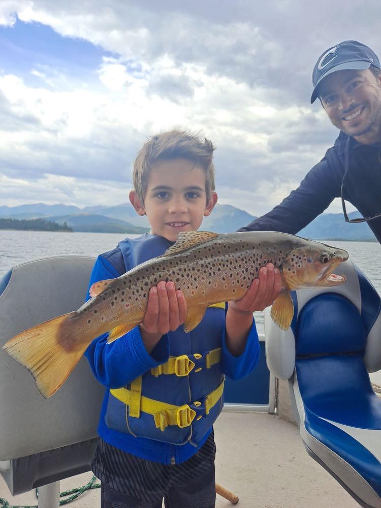 best first fish ever happy camper
