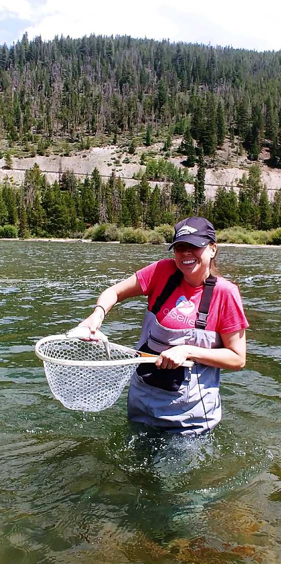first fish fly rod beginner swan mountain road
