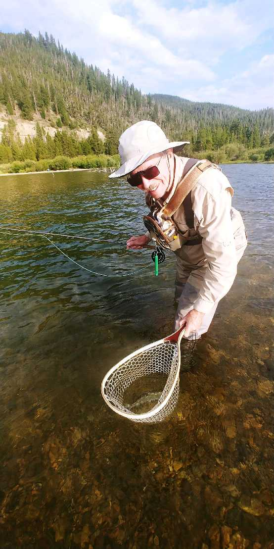 texan netting colorado trout inlet blue river