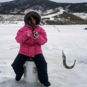 cheetah jacket ski resort winter fishing children